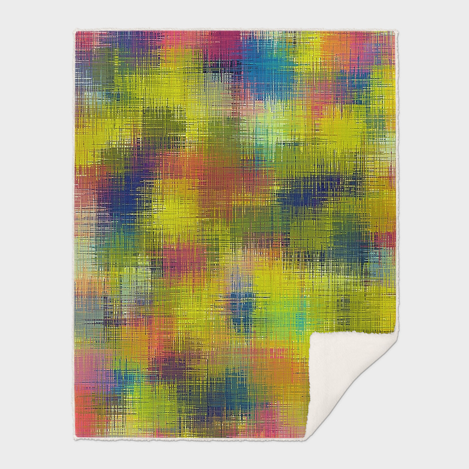 red blue and yellow painting texture abstract