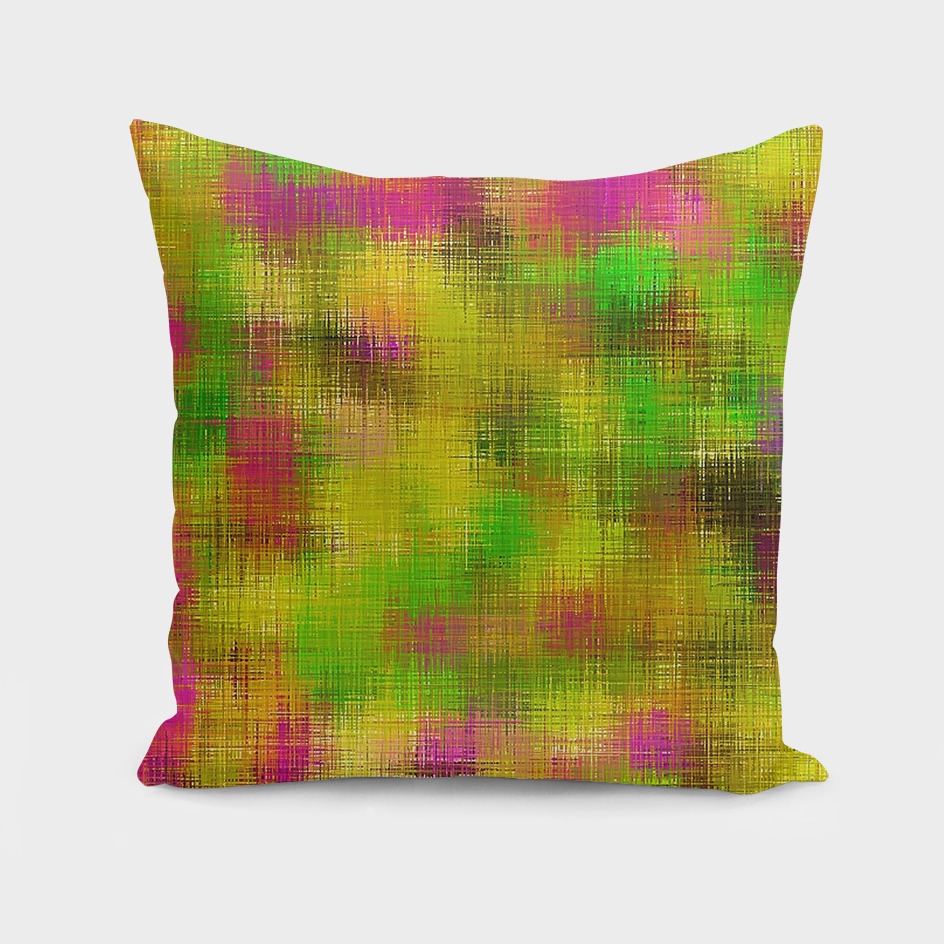 vintage painting texture abstract in pink yellow green