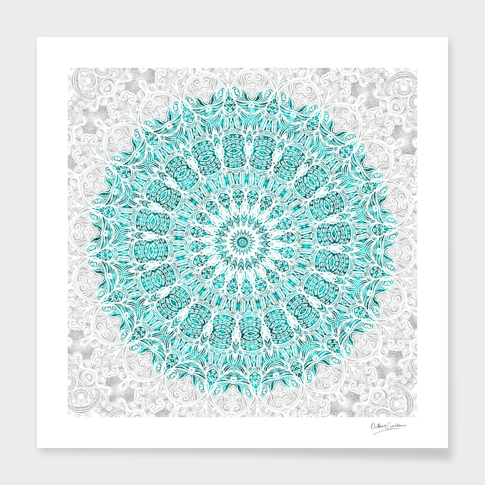 A Glittering Mandala