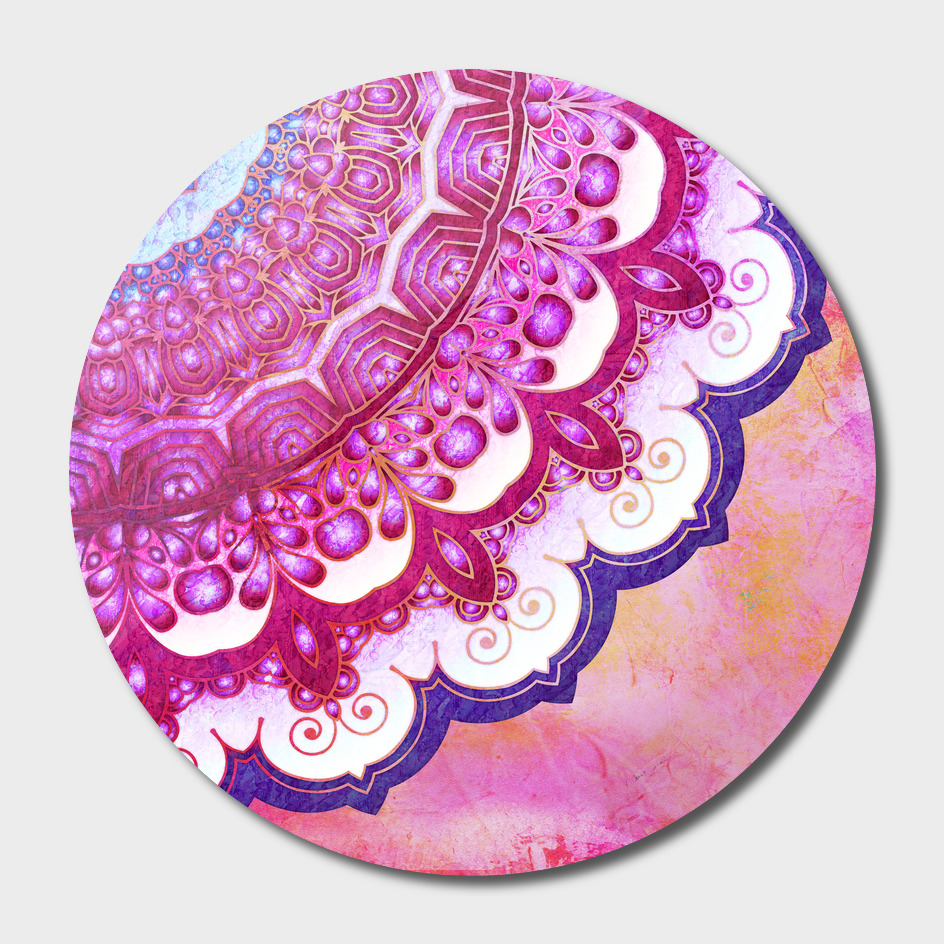Colorful Watercolor Mandala