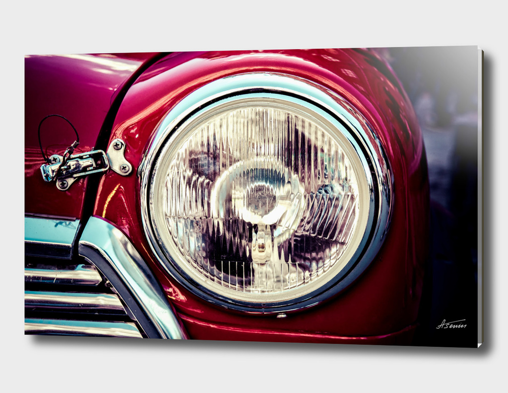 Classic Car Beauty - Headlight