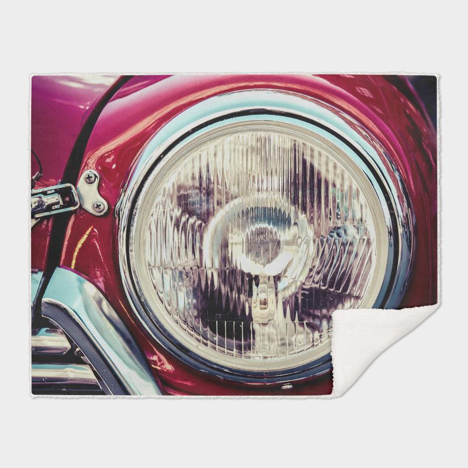 Classic Car Beauty - Headlight
