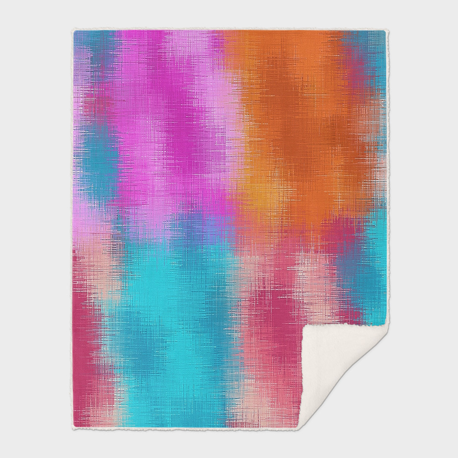 pink orange blue and red painting abstract background