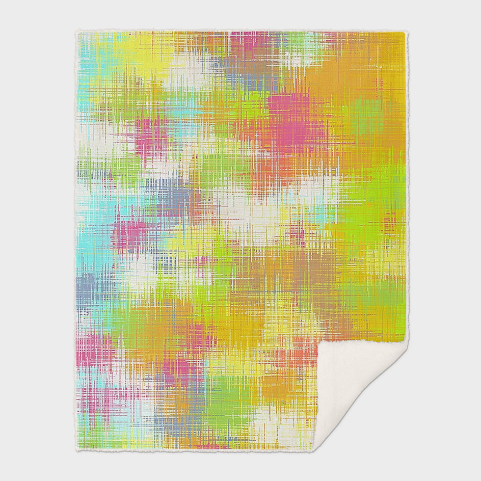 green yellow pink and blue painting abstract background