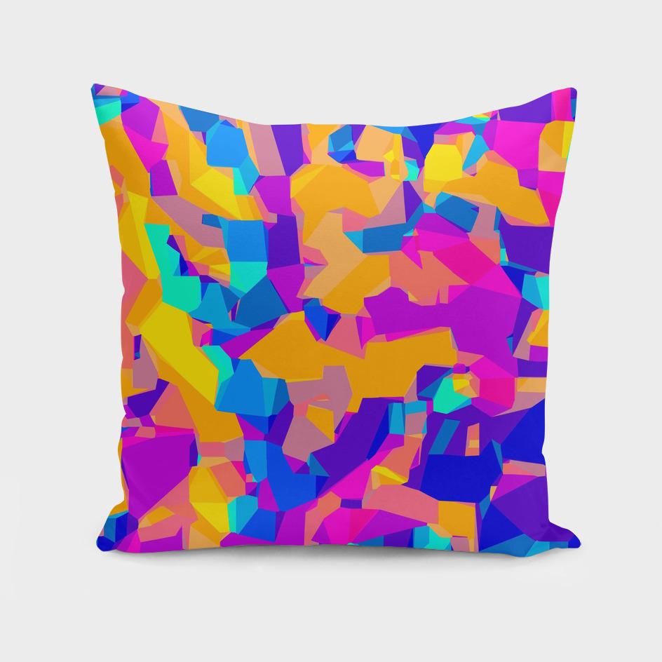 colorful geometric graffiti abstract background
