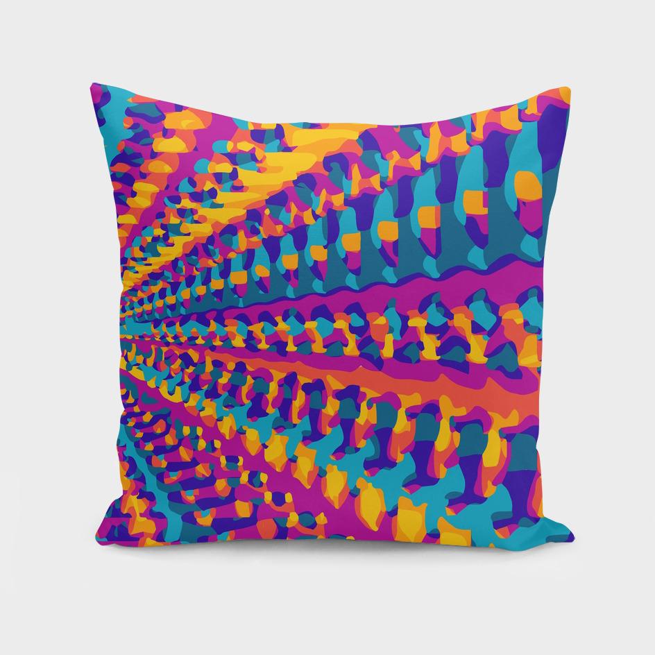 colorful geometric graffiti abstract pattern
