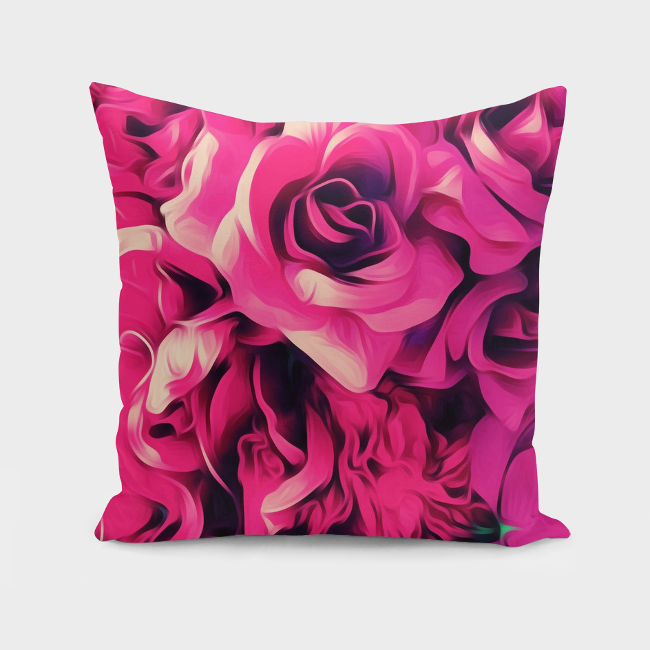 pink roses texture background