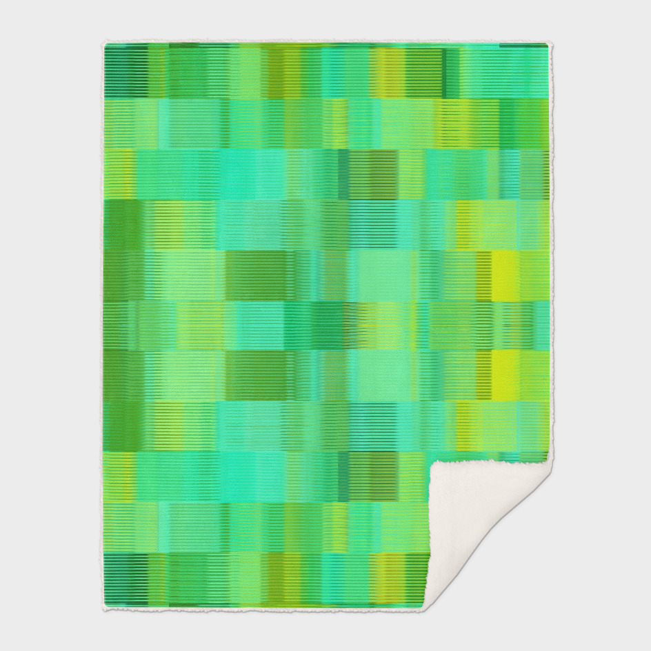 green and yellow plaid pattern abstract background