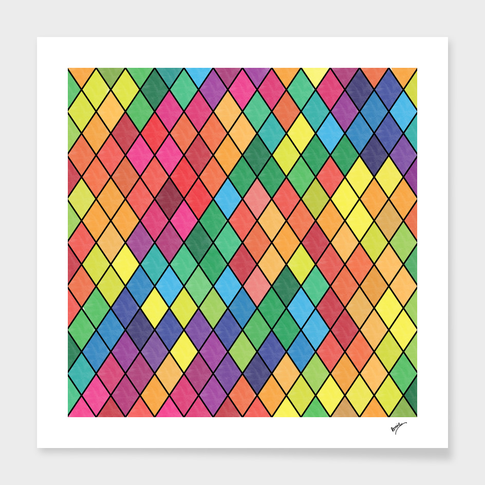 Lovely geometric #11