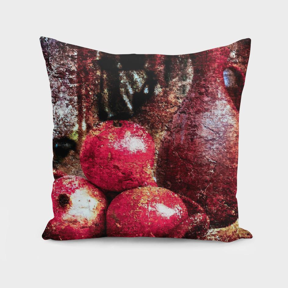 Pomegranates And A Jar