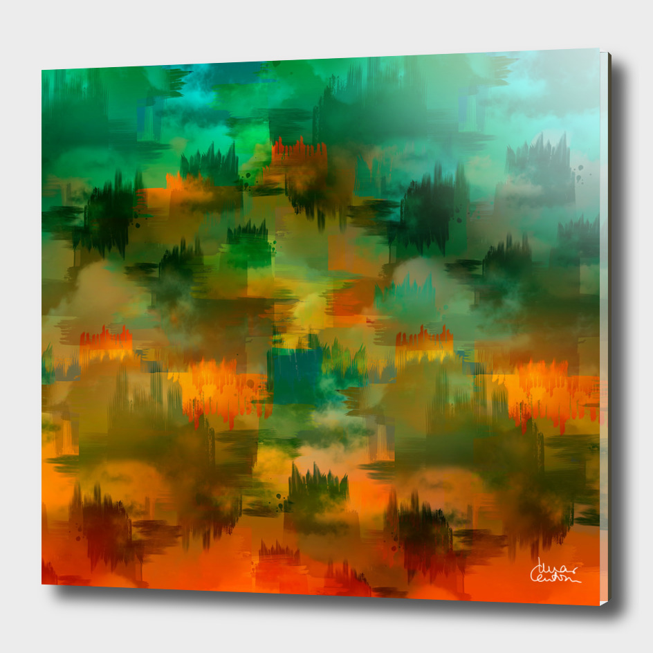 """Abstract forest in Autumn"""