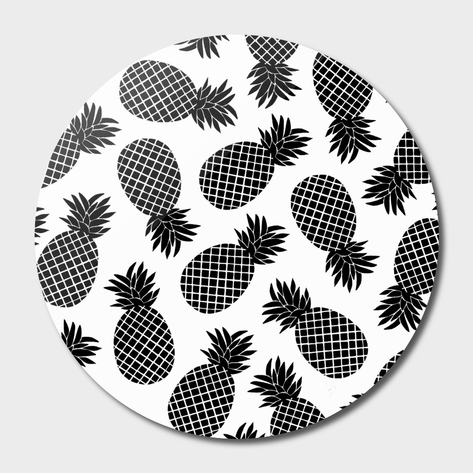 Pineapple In Black