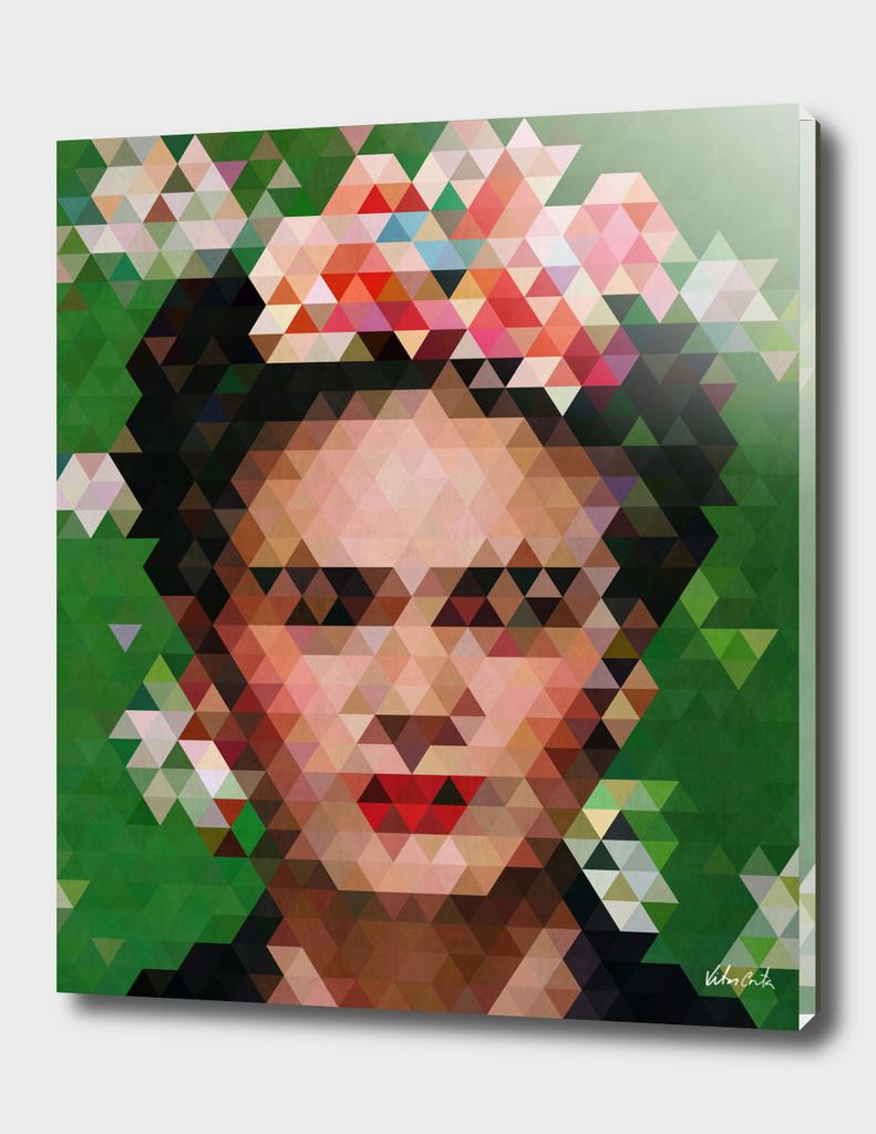 Frida kahlo Geometric