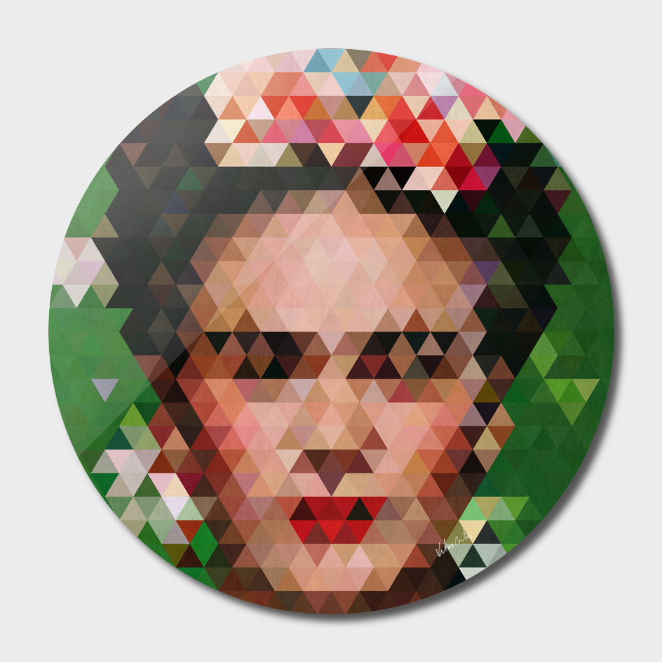 Frida kahlo Geometric