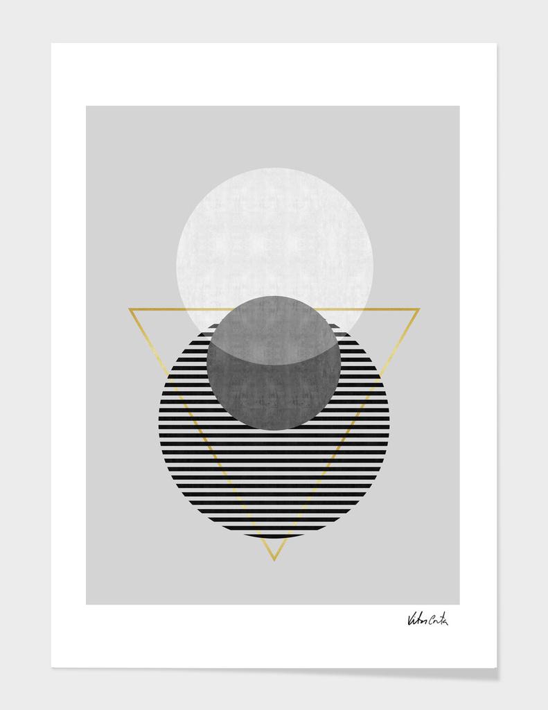 Geometric and golden art I