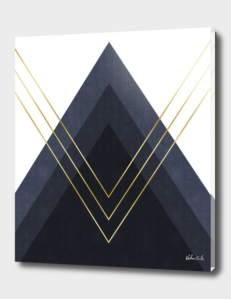 Geometric and golden art III