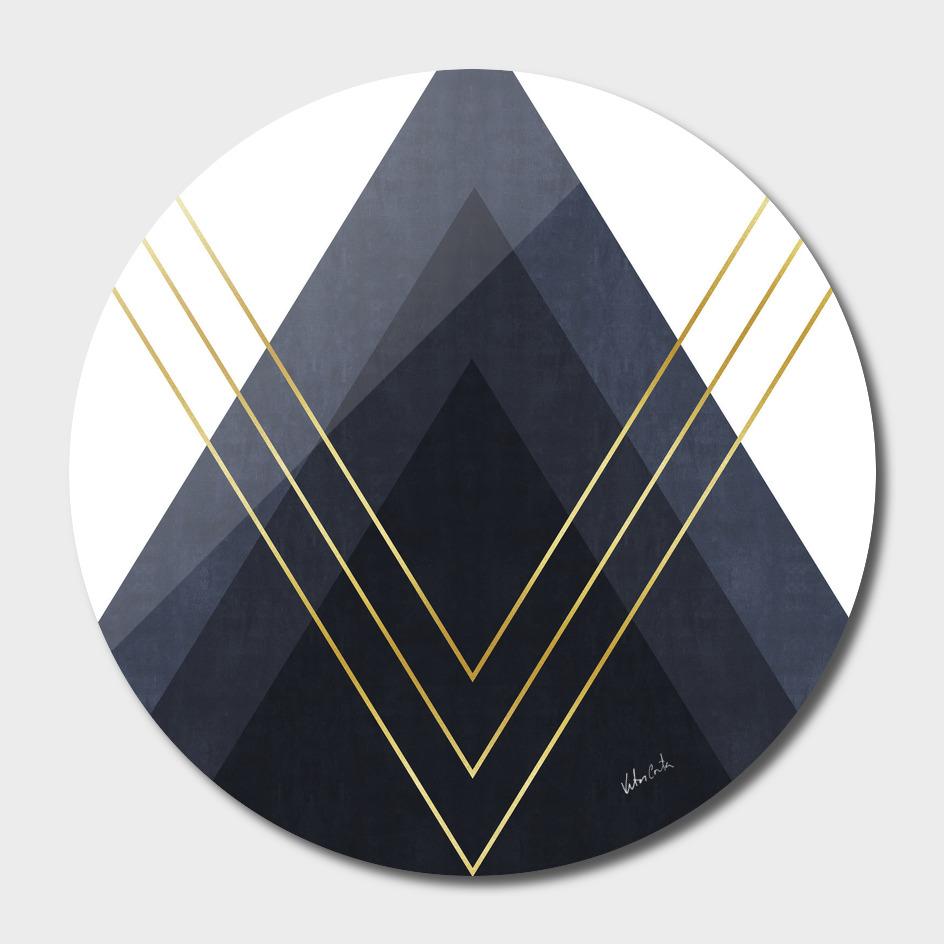 Geometric and golden art III