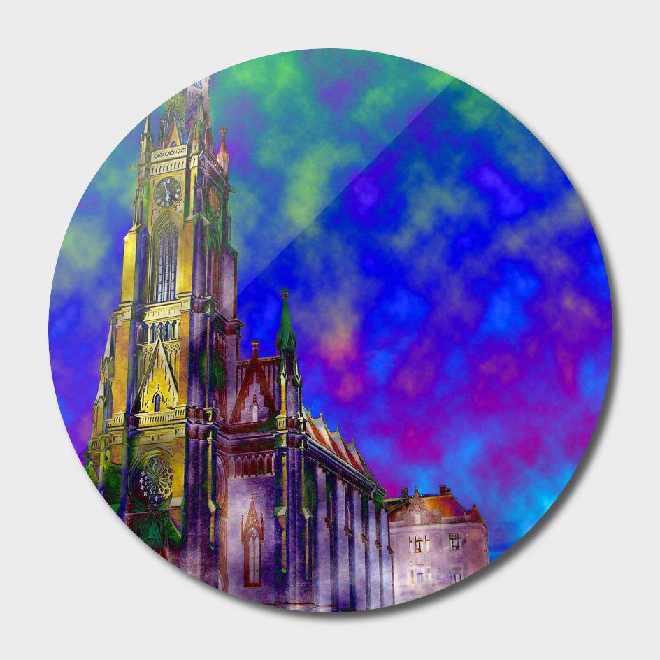 Novi Sad 001 digital by Banstolac - Crkva imena Marijinog