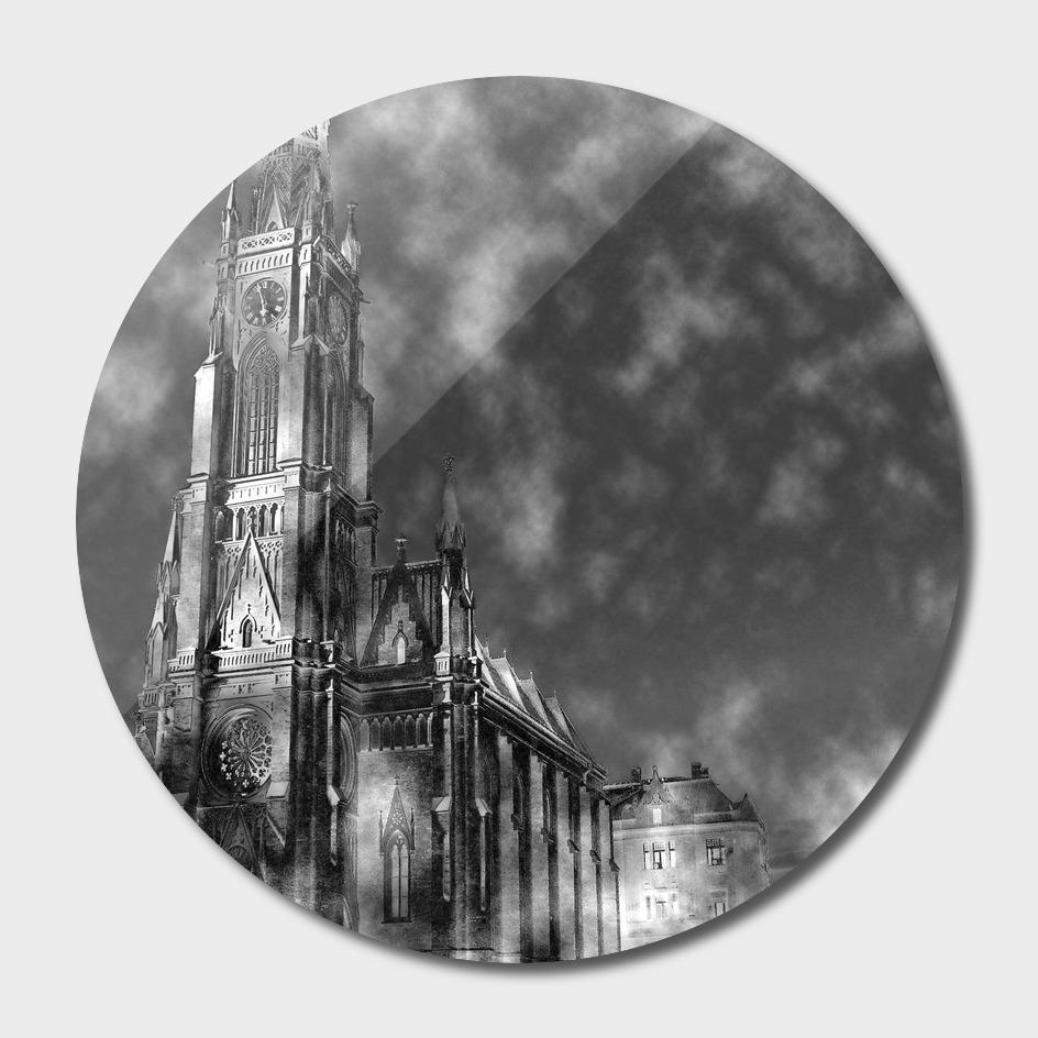 Novi Sad 001_2 digital by Banstolac - Crkva imena Marijinog