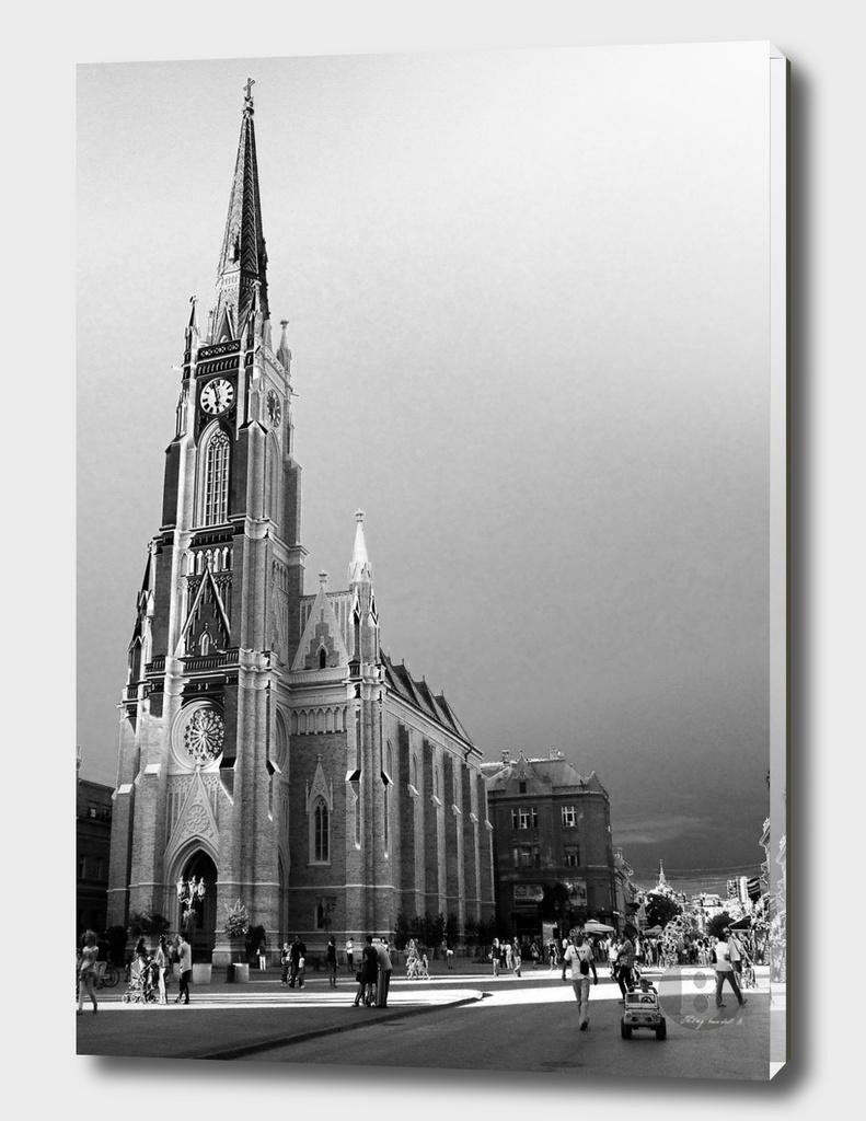 Novi Sad 001_4 digital by Banstolac - Crkva imena Marijinog