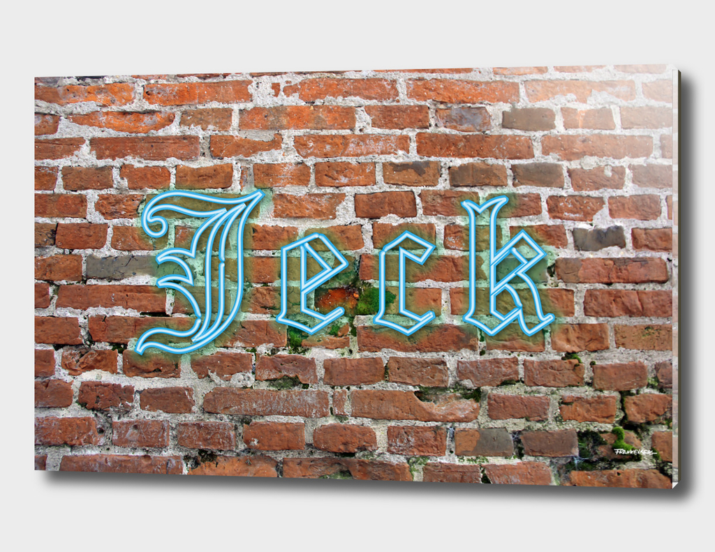 "Jeck - Brick - Blue - Cologne Dialect 4 ""Crazy, Mad, Loco"""