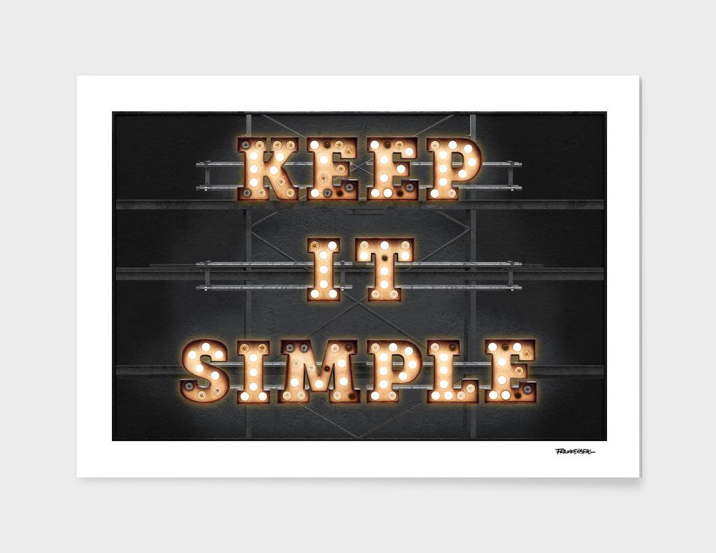 Keep it Simple - Bulb