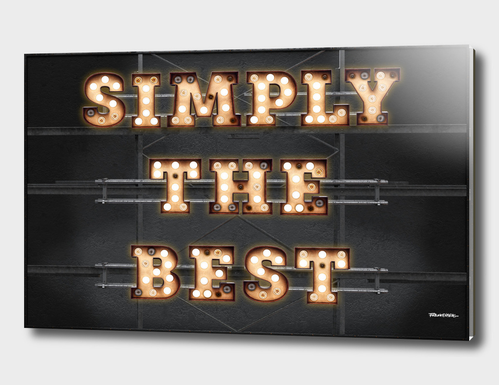 Simply the Best - Bulb