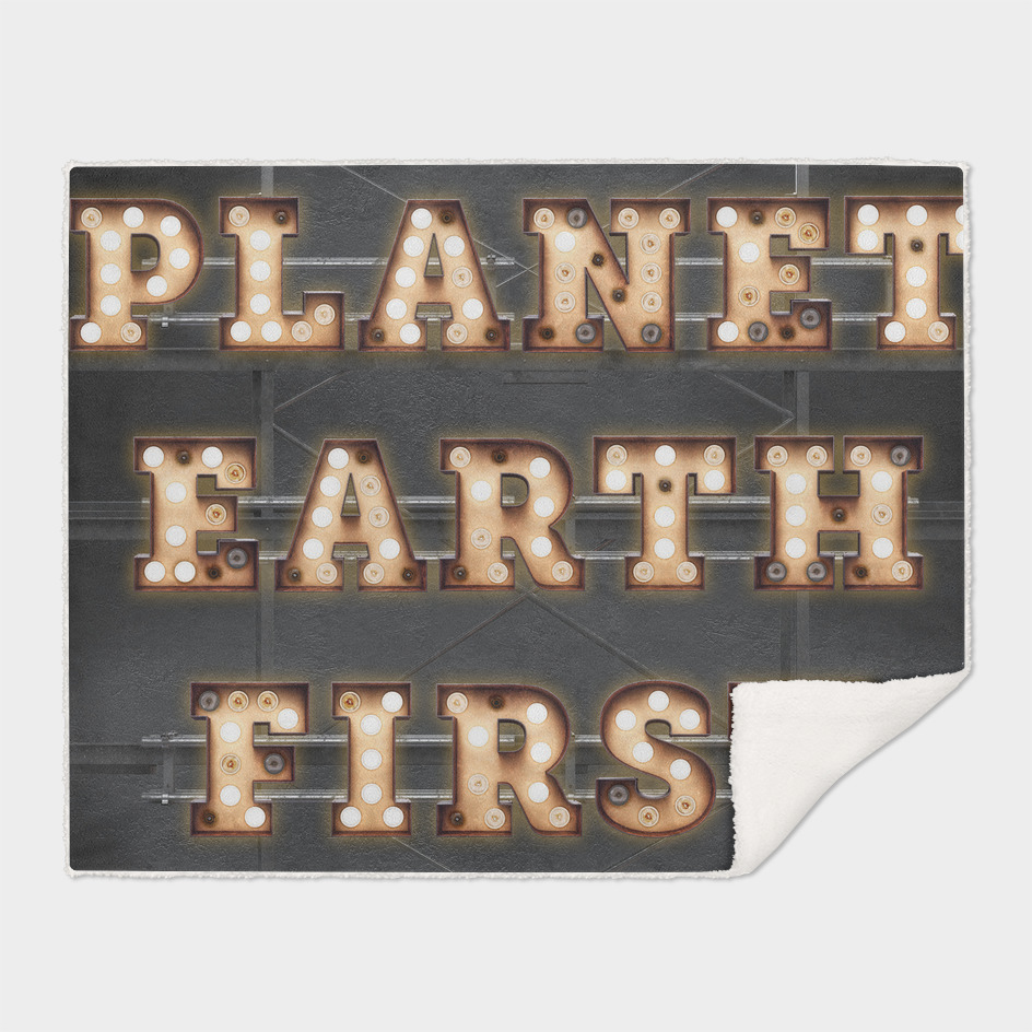 Planet Earth First - Bulb