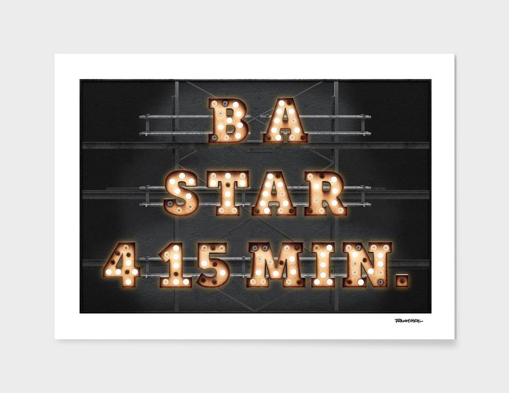 B A STAR - Bulb