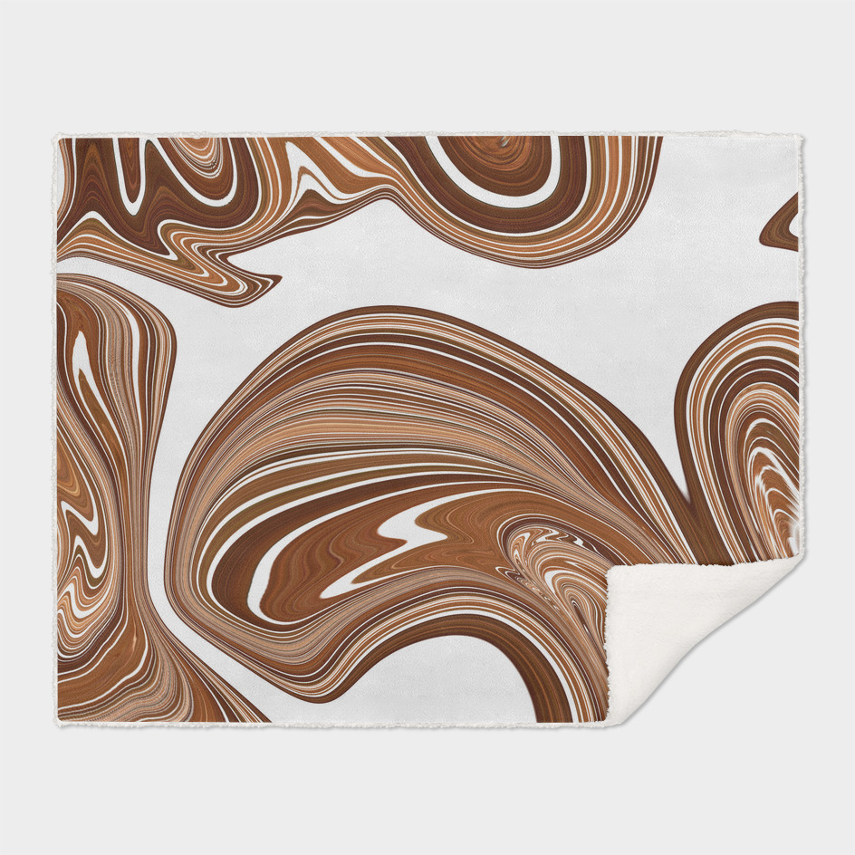 Bold Copper Agate Stone Effect Design