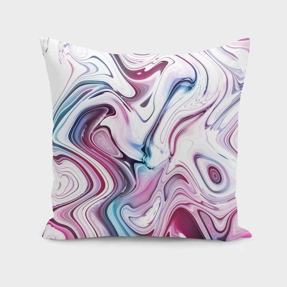 Liquid Marble - Pink and Blue
