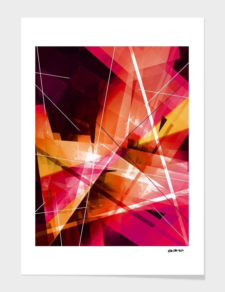 Eclipse - Geometric Abstract Art