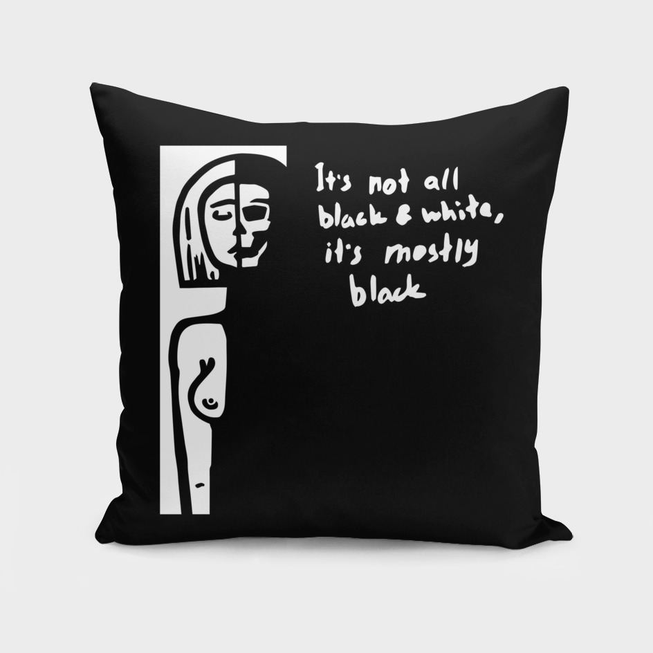 Mostly black