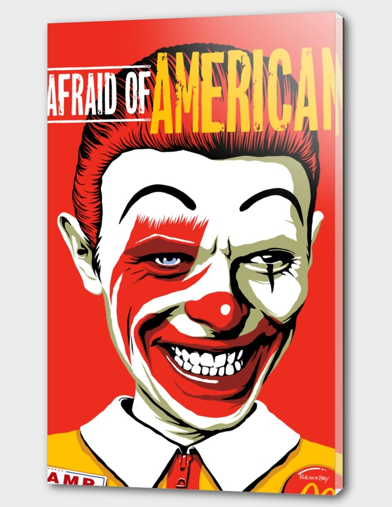 I'm Afraid of Americans