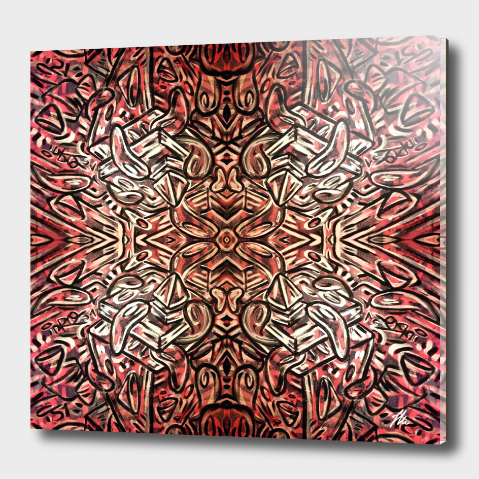 Mandalized in Red by IDRO51