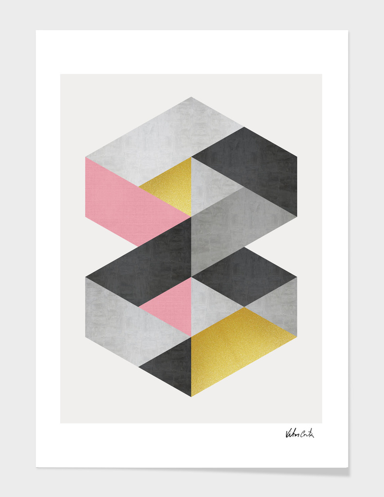 Geometric and golden art II