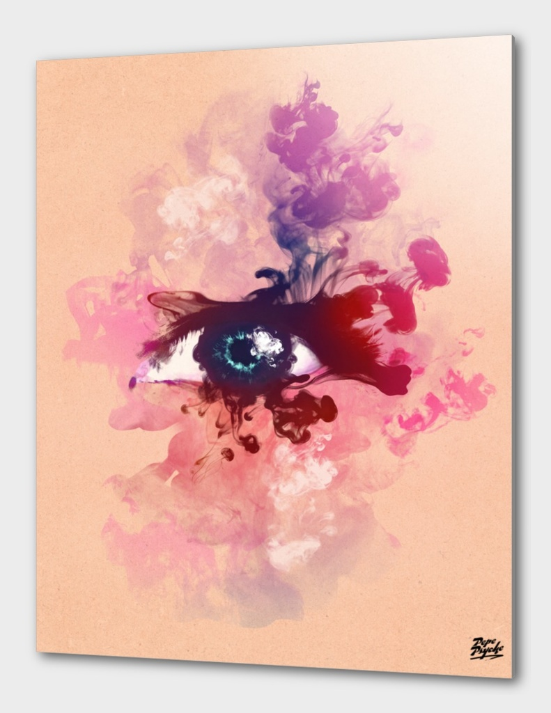 Psychedelic Ink Eye
