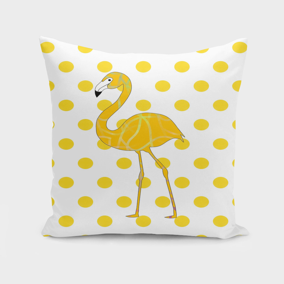 Yellow Flamingo