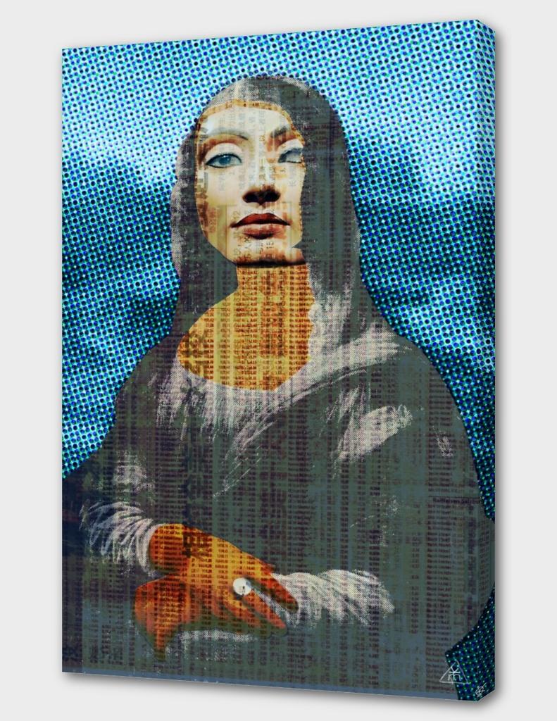 Nona Lifretéte in blue