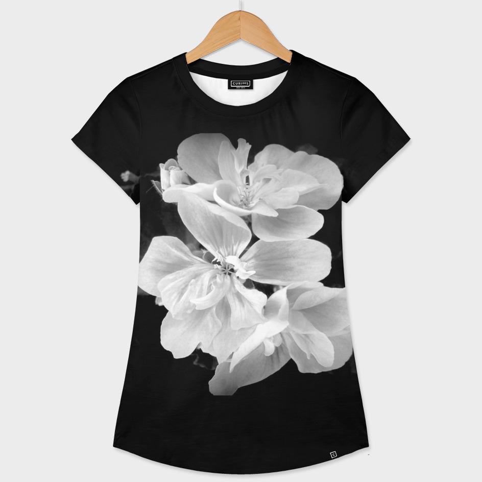 Geranium In Black And White