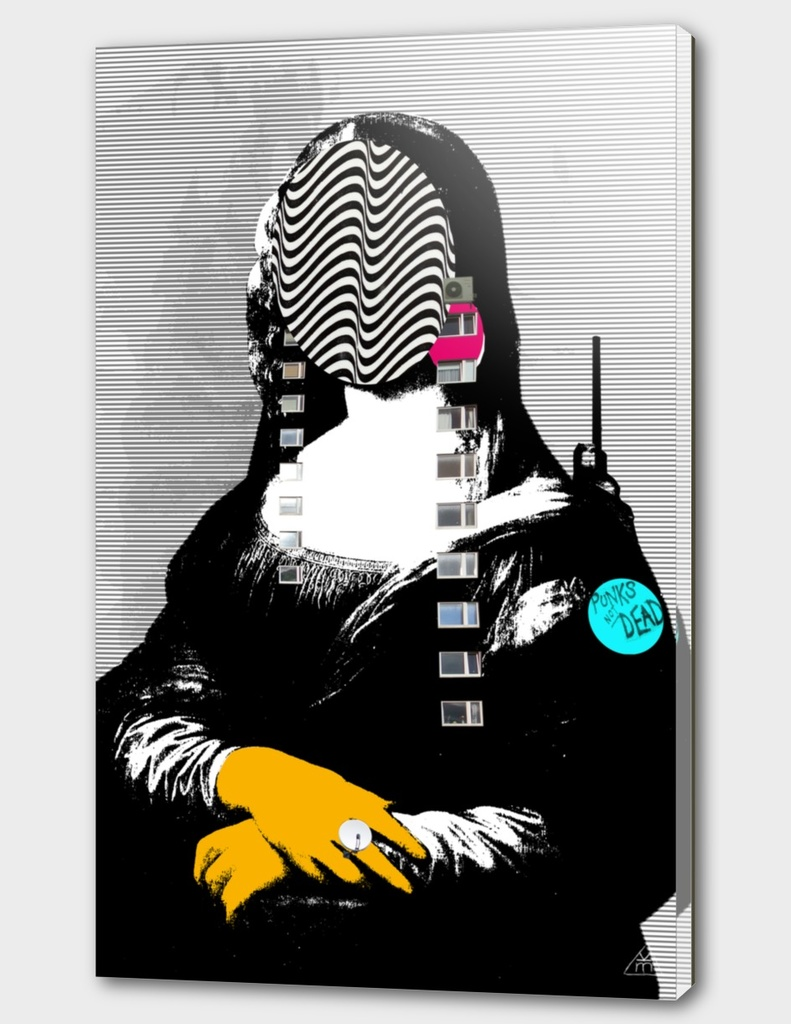 Mona Lisa StreetArt