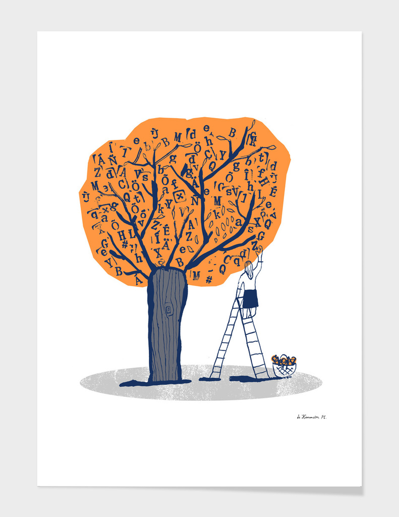 arbralettres / letters tree