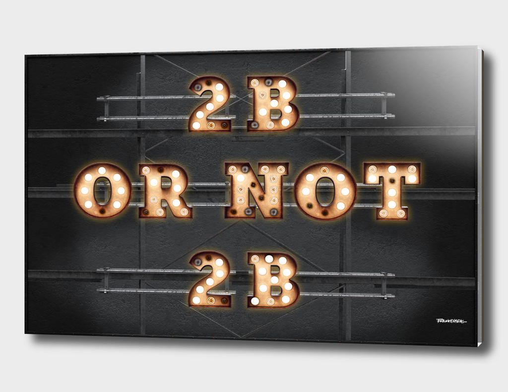 2B or not 2B - Bulb