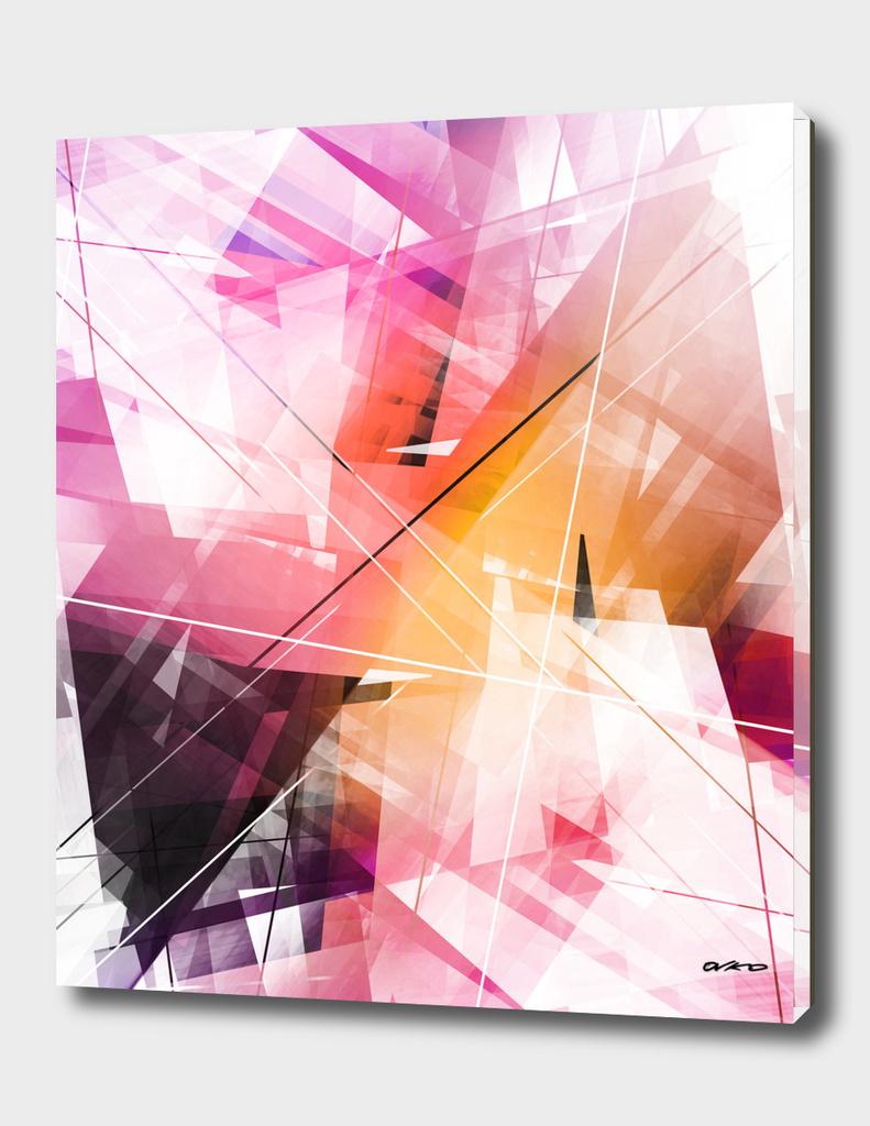 Sunstroke - Geometric Abstract Art