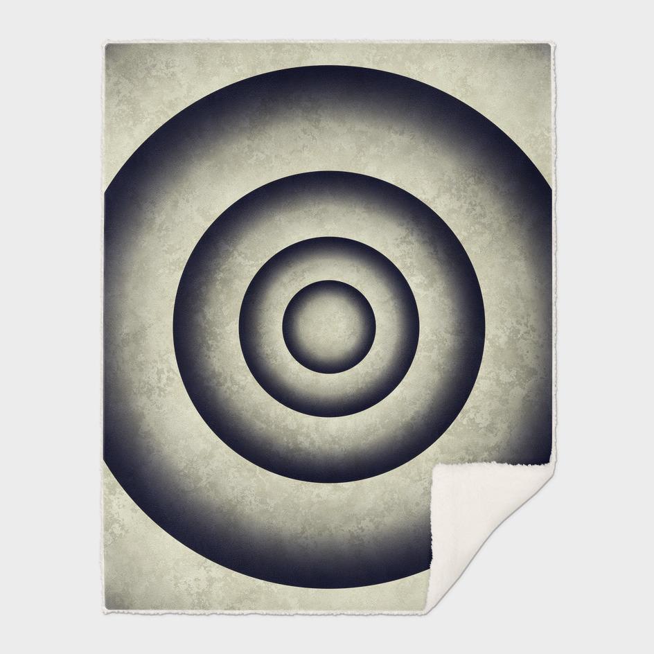 Minimal grunge 3D abstraction