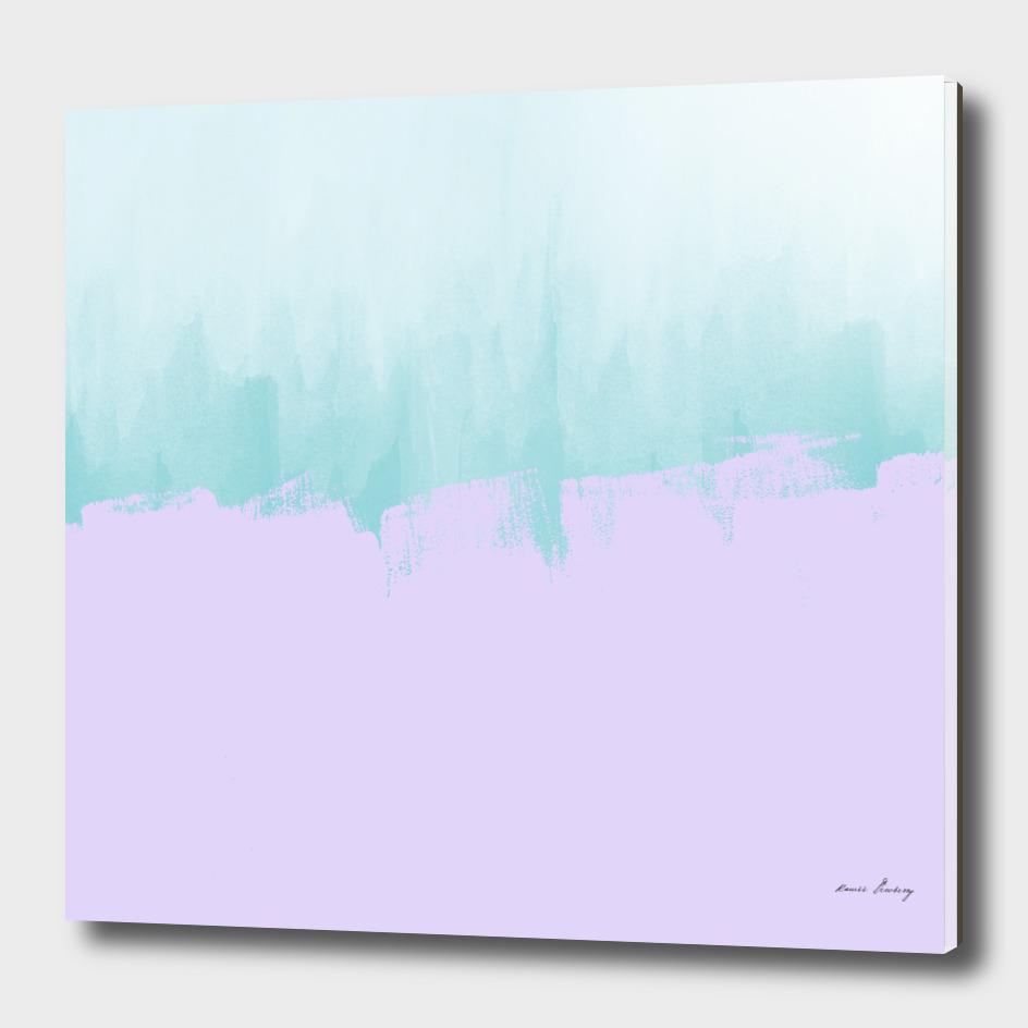Purple Paint on Tiffany