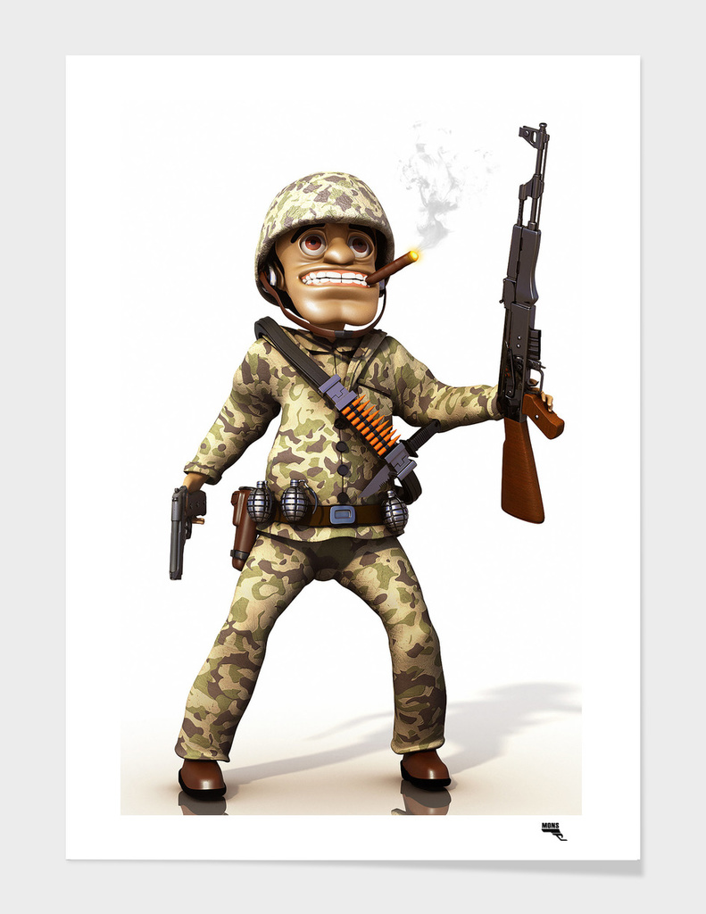 Cartoon Soldier