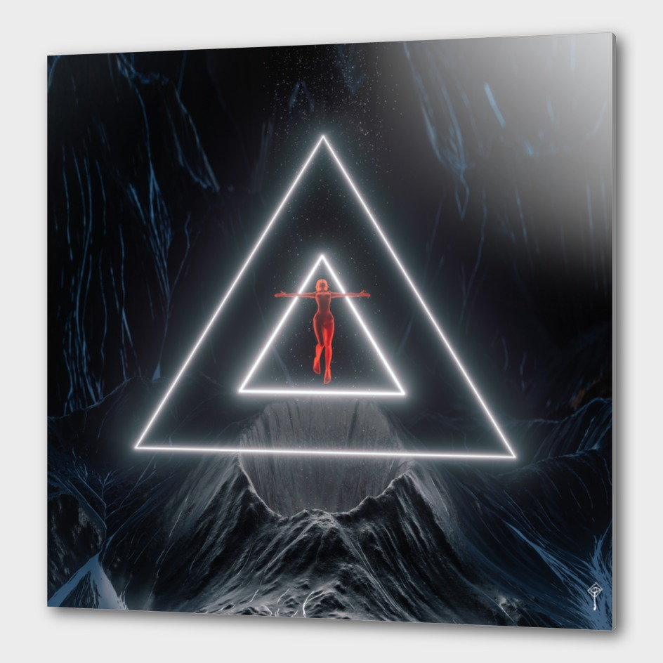 Triangle RED GIRL