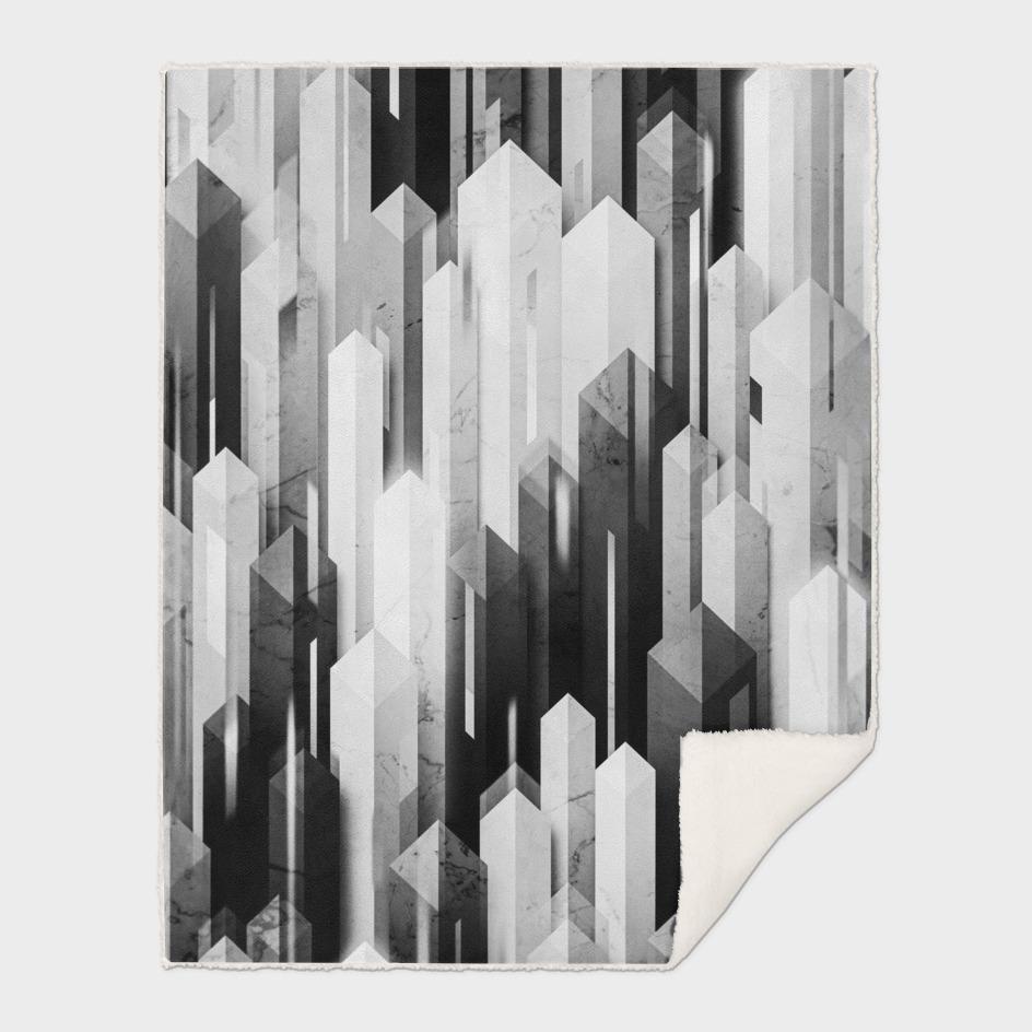 obelisk posture 3 monochrome