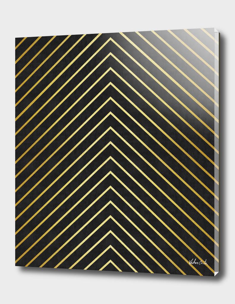Minimalist and golden art